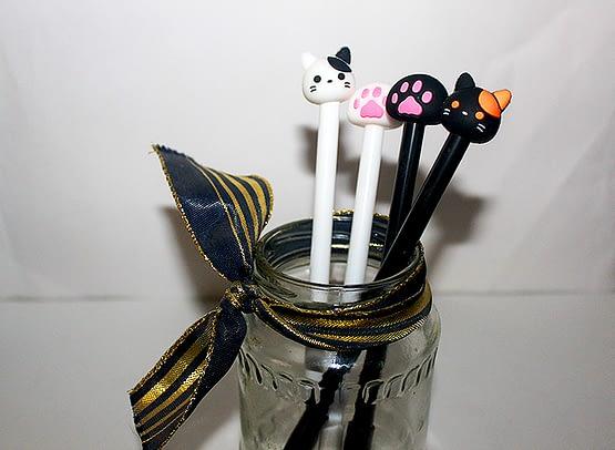 cicás toll csomag, macskás ajándék