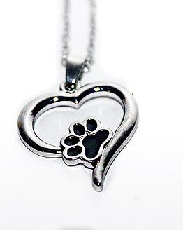 tappancs nyaklánc, macskás ajándék