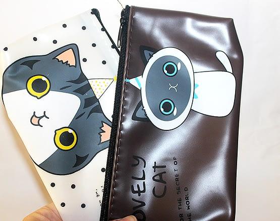cicás papír írószer, macskás ajándékok