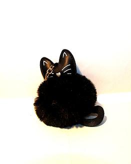 cicás táskadísz, macskás ajándék