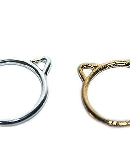 cicás ajándék, macskafüles gyűrű