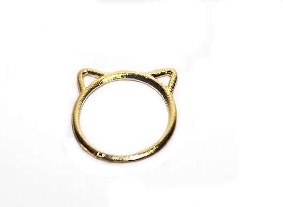 macskafüles gyűrű, cicás ajándék