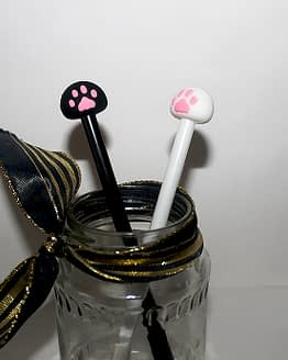 tappancsos cicás tollak, macskás ajándék