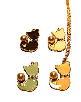 macskás medál, cicás ékszer