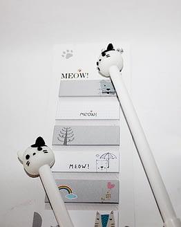 macskás könyvjelző, cicás ajándék