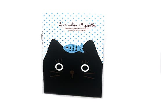 macskás irodaszer, cicás ajándék