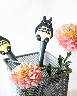 szürke cicás toll, macskás ajándék