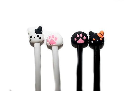 színes cicás tollak, macskás ajándék