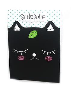 cicás jegyzetfüzet, macskás ajándék