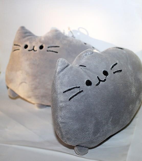cicás párna, macskás ajándék